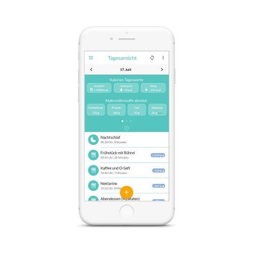MillionFriends-App-Tagesansicht