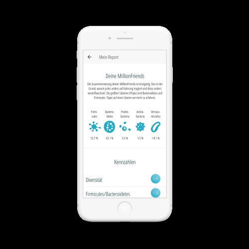 MillionFriends App-Mikrobiom